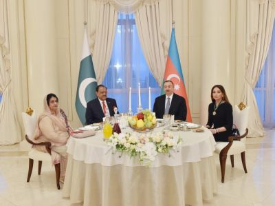 Dinner reception hosted in honor of Pakistani President