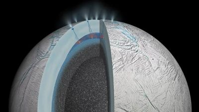 Hot springs bubbling may hide Saturn  RESEARCH