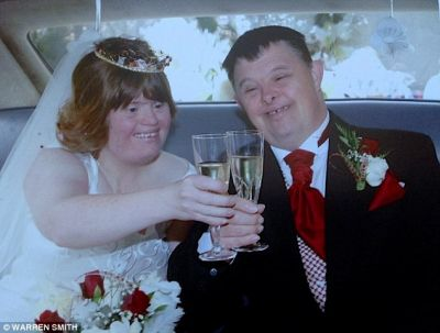 A couple with Down's syndrome dies