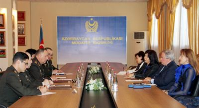 PACE representative at Defense Ministry