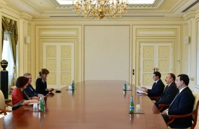 President received the rapporteur of the PACE