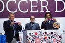Football legends take part