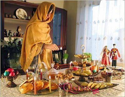 Today Last Tuesday of Novruz Holiday