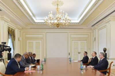 President received Sudanese Minister