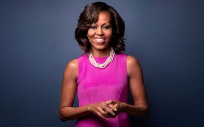 Michelle Obama arrives in Japan