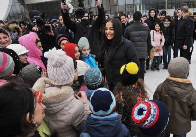 Leyla Aliyeva attended exhibition PHOTO