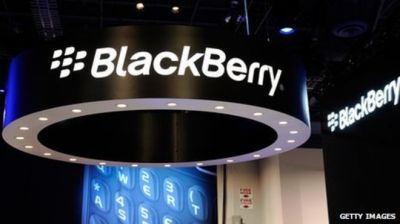 Blackberry posts profit