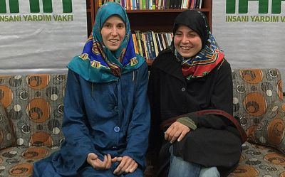 Women freed after 2 years