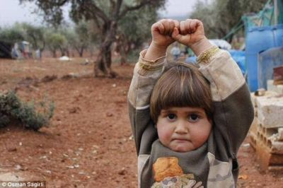 The heartbreaking picture of the Syrian girl