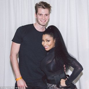 Minaj hit it off with Louis Spencer
