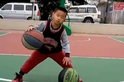 5 year old basketballer