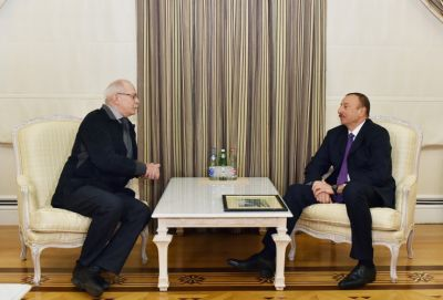President Ilham Aliyev received Mikhalkov