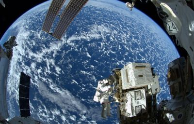 ISS orbit raised by 700 metres