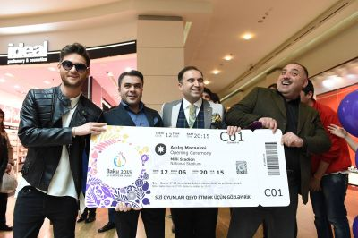 Baku 2015 launches ticket sales  PHOTO