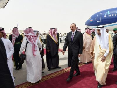 Azerbaijani President arrived in the Kingdom of Saudi Arabia