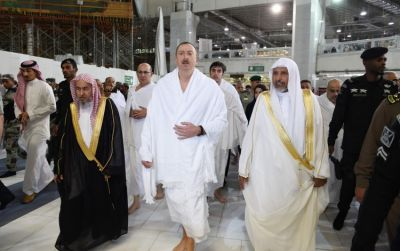 President visits Mecca for Umrah pilgrimage