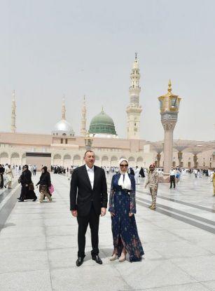 Azerbaijani President visits Madinah