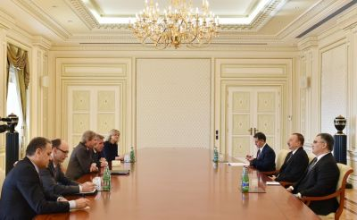 President received  European Commissioner
