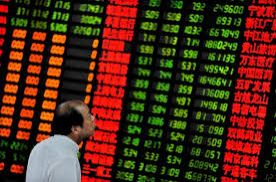 China shares fell