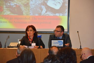 Conference on Armenians` genocide acts against Azerbaijanis
