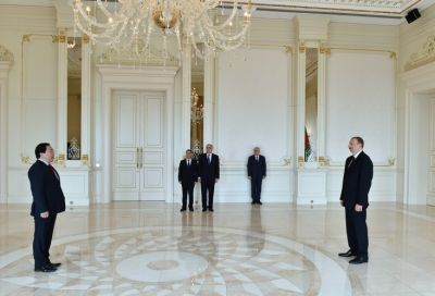 President Ilham Aliyev received  Ambassador of Vietnam