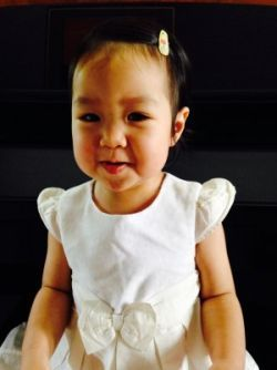 Cryogenically frozen 2-year-old girl