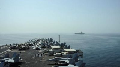 US deploys aircraft carrier