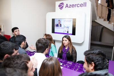 Azercell continues supporting talented students