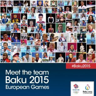 Team GB announces 153 Athletes for Baku 2015