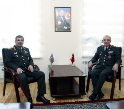 Zakir Hasanov met with  General Omar Pac   PHOTO