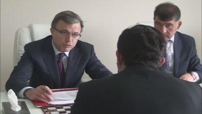Hüseynqulu Bağırov Beyləqanda vətəndaşları qəbul edib