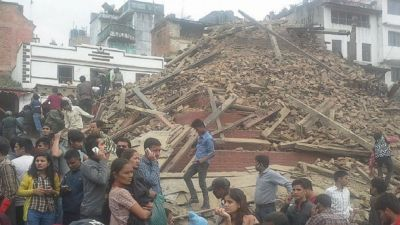 7.9 magnitude earthquake rattle Nepal