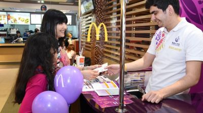 Baku 2015 tickets  now available in McDonalds stores