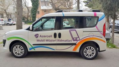 Azercell's new Mobile Customer Services will travel all over the country!