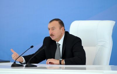 Azerbaijan is suffering from brutal violation of  international law: President