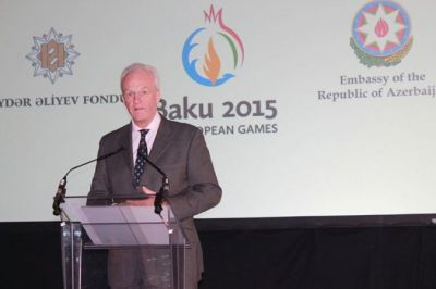 Presentation of the Baku-2015  held in London