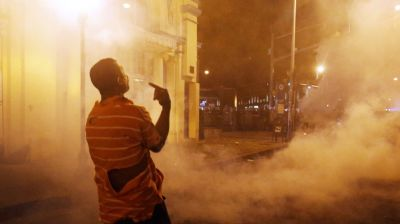 Clashes carry out in Baltimore
