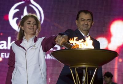Lankaran, Second Destination for the Journey of the Flame PHOTO