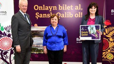 Baku 2015 announces first Lucky Winner