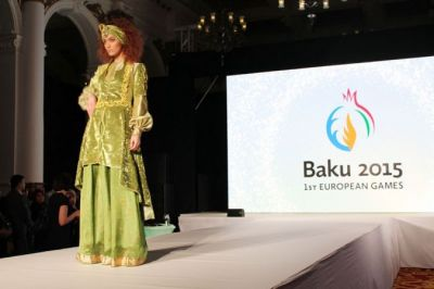 A fashion show associated with the Baku-2015 PHOTO