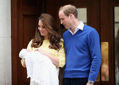 William and Kate's baby daughter