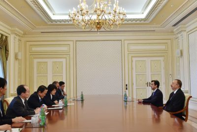 President received Japanese Deputy PM