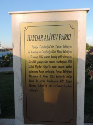 Heydar Aliyev Park opens in Tarsus, Turkey PHOTO