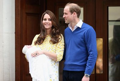 William registers the birth of his new daughter