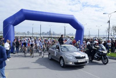 The 2015 Tour d'Azerbaijan kicks off
