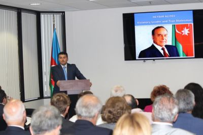 Azerbaijan's National Leader remembered in Los Angeles