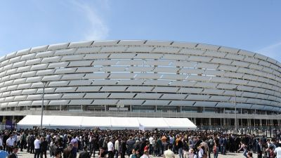 Baku 2015 held successful test event at Olympic Stadium