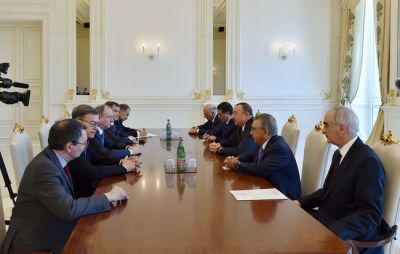 President  received  Secretary of the Security Council