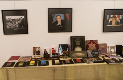 Bust of Azerbaijani National Leader unveiled in Israel