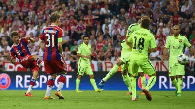Barcelona reach Champions League final